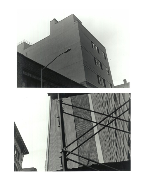 buildings diptych